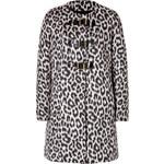 Paule Ka Wool Blend Monteau Coat in Noir
