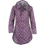 Golddigga Raincoat Ladies Grape PurpHeart 8 (XS)