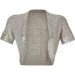 Donna Karan New York Oyster Sequined Cashmere-Silk Shrug