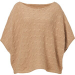 Ralph Lauren Blue Label Wool-Cashmere Dolman Sleeve Pullover in Camel