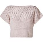 Iris von Arnim Nude Cotton Short Pullover