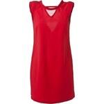 Šaty elegantní červené Enelle