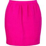 Sandro Fuchsia Cotton-Silk Hollywood Cherise Skirt