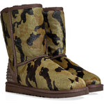 UGG Australia Leather Rowland Boots in Green