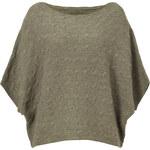 Ralph Lauren Blue Label Wool-Cashmere Dolman Sleeve Pullover in Autumn