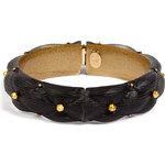 Alexis Bittar Small Quilted Bracelet in Black