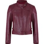 Fendi Leather Jacket in Cherry