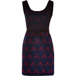 Anna Sui Dress in Merlot Multi