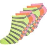 camano 6 PACK Socken neon yellow