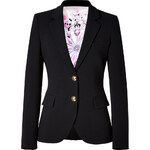 Emilio Pucci Wool Blazer in Black