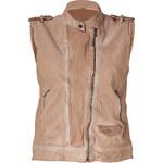 Neil Barrett Powder Washed Leather Vest