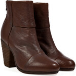 Rag & Bone Leather Classic Newbury Ankle Boots in Brown