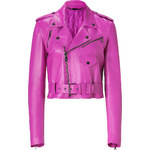 Ralph Lauren Collection Hyacinth Glove Leather Jacket