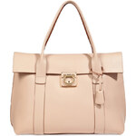 Salvatore Ferragamo Almond Leather Sookie Tote