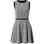 Tibi Dress in Black/White Multi