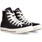Converse Suede CT Shearling Lined Hi Sneakers in Black