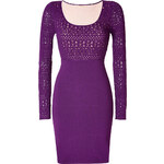 Catherine Malandrino Knit Afton Dress in Eggplant