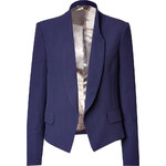 Paul Smith Wool Blend Shawl Collar Blazer