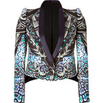 Just Cavalli Printed Cropped Jacket
