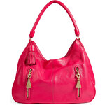 See by Chloé Leather Hobo in Fuxia