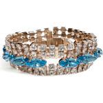 Valentino Two-Tone Crystal Bracelet