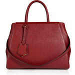 Fendi Leather 2Jours Tote in Scarlet Red/Cherry