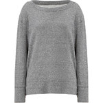 Current/Elliott Oversize Pullover in Heather Grey