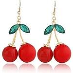 LightInTheBox Women's Super Personality Exaggerated Cherries Temperament Stud Earrings