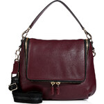 Anya Hindmarch Leather Maxi Zip Satchel in High Shine