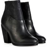 Rag & Bone Leather Boots in Black