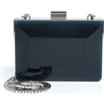 Salvatore Ferragamo Mini Dolly Clutch in Oxford Blue