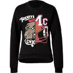 McQ Alexander McQueen Cotton Patchwork Sweatshirt in Black