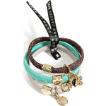 Marc by Marc Jacobs Embellished Katie Hair Tie Cluster in Oro