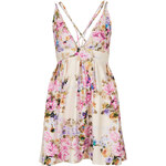 Topshop **Floral Scuba Skater Dress by Oh My Love