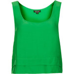 Topshop Double Hem Crop Vest