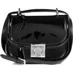 Salvatore Ferragamo Leather Jody Bag in Black