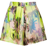 Topshop **High Waisted Tropical Print Shorts by Oh My Love