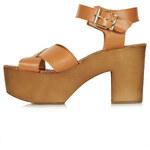 Topshop NAIVE Cross Through Sandals