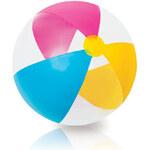 Naf míč 61 cm duha průhledný - dle obrázku Rappa