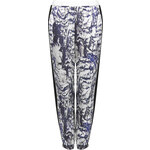Topshop Aerial Stripe Luxe Joggers