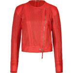 Roberto Cavalli Laser Cut Leather Jacket
