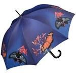 Doppler Dámský holový vystřelovací deštník ART Motýl 740561