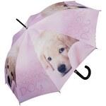 Doppler Dámský holový vystřelovací deštník ART Labrador 740596