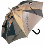 """Doppler Dámský holový vystřelovací deštník ART de Toulouse-Lautrec """"Divan Japonais"""" 74058E"""