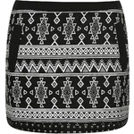 Topshop Folk Stud Skirt