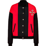 10 Year Anniversary Collection Fausto Puglisi, Embellished Bomber Jacket