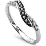 Diamantový prsten Au585 Voile sombre