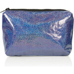Topshop Holographic Glitter Make Up Bag
