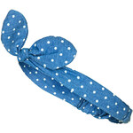 Topshop Chambray Spot Headband