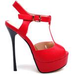 WILADY Sandály na vysokém podpatku (38)